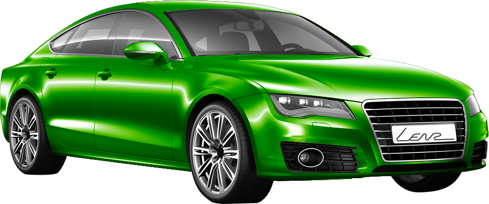 Autofolierung Grün